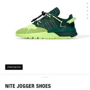 Ivy park adidas green nite joggers unisex